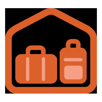 illustration du service Luggage deposit