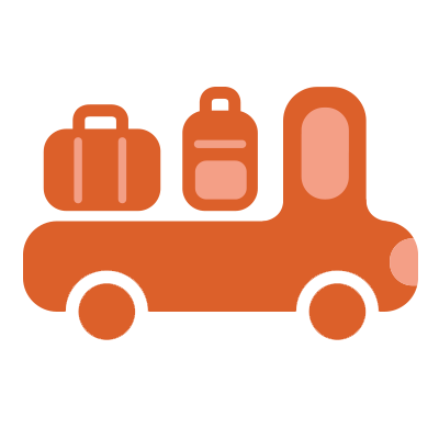 illustration du service Luggage transportation