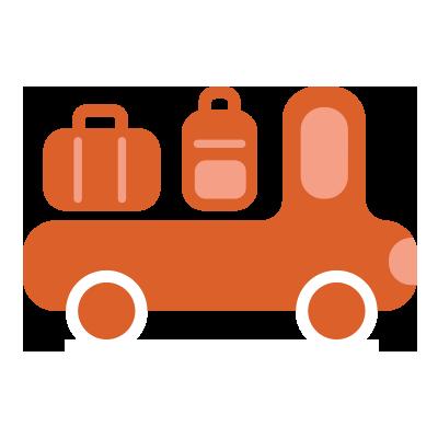 illustration du service Luggage transport