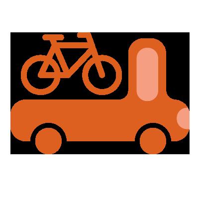 illustration du service Transport de vélos