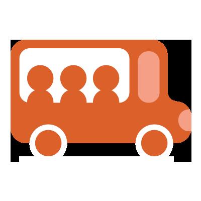 illustration du service Tägliche Shuttlebusse