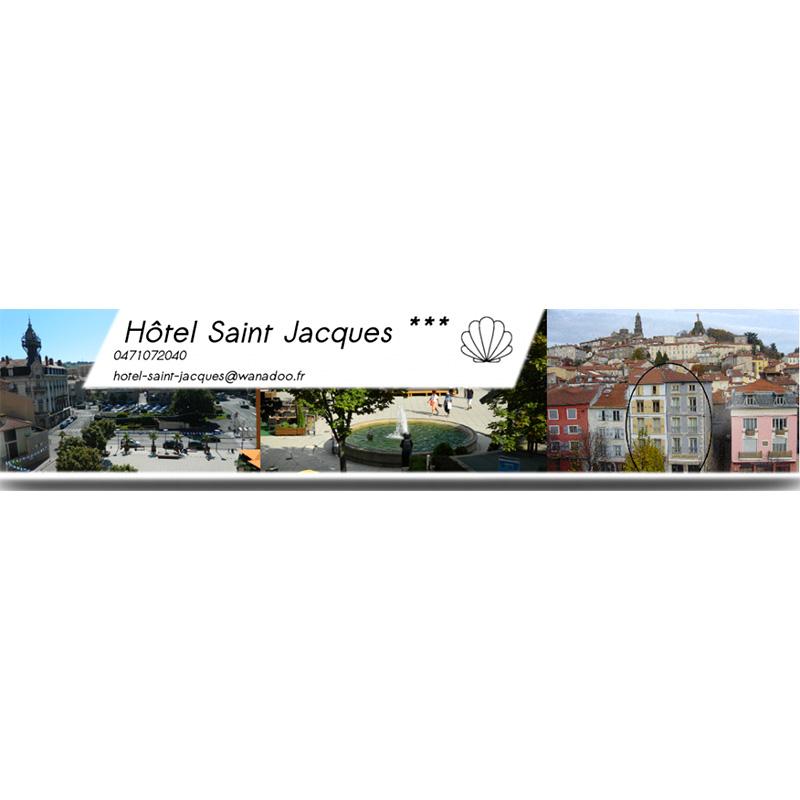 Logo de l'hotel saint jacques