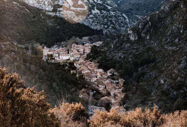 Le village de Saint Guilhem-le-Désert  - ©Jossuha Théophile
